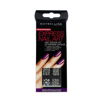 Maybelline Express Nail Art Stencil Kit, , large