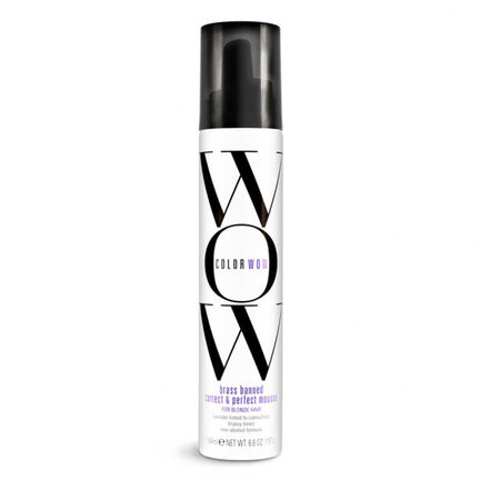Color WOW Brass Banned Mousse for Blonde Hair 200ml, , large