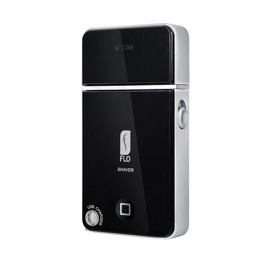 Flo USB Travel Shaver Black, , large