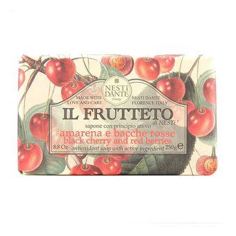 Nesti Dante Il Frutteto Black Cherry & Red Berries Soap 250g, , large