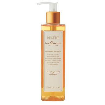 Natio Wellness Shower & Bath Gel 275ml, , large