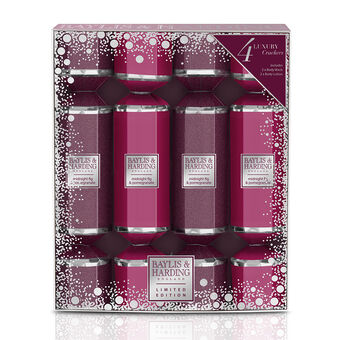 Baylis & Harding Midnight Fig & Pomegranate 4 Cracker Set, , large