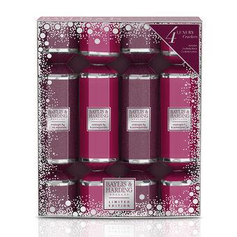 Baylis & Harding Midnight Fig & Pomegranate 4 Cracker Set, , large