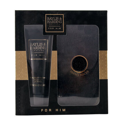 Baylis & Harding Black Pepper & Ginseng 2 Piece Foot Set, , large