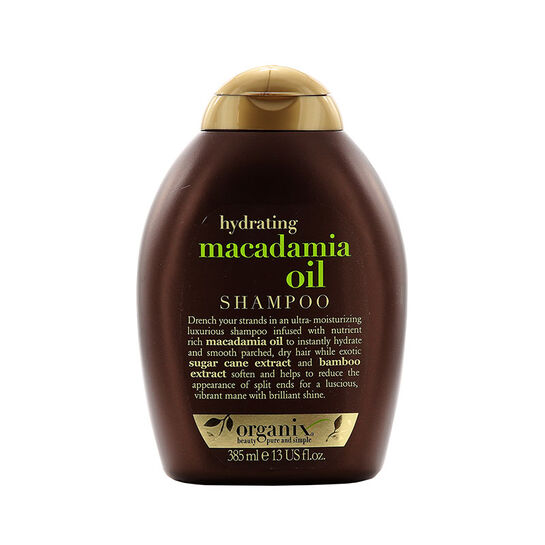 Organix Macadamia Oil Shampoo 385ml, , large