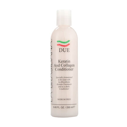 La Brasiliana Due Keratin and Collagen Conditioner 250ml, , large