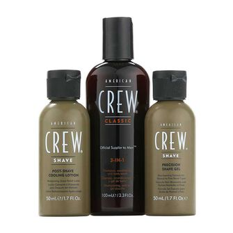American Crew Travel Grooming Kit Gift Set, , large