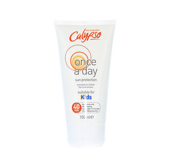 Calypso Once A Day SPF 40 Kids Protection Lotion 150ml, , large