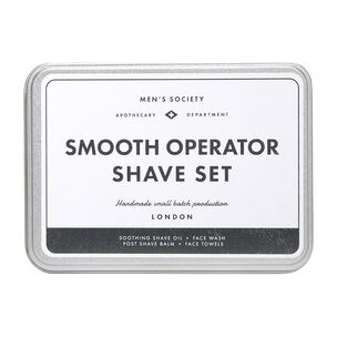 Men's Society Smooth Operator Shave Kit, , large
