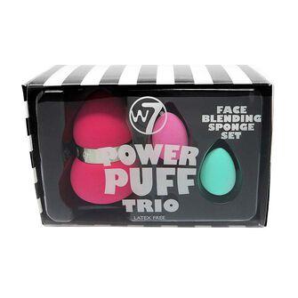W7 Power Puff Trio Face Blender Sponge, , large
