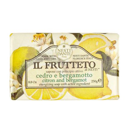 Nesti Dante Citron and Bergamot Soap 250g, , large
