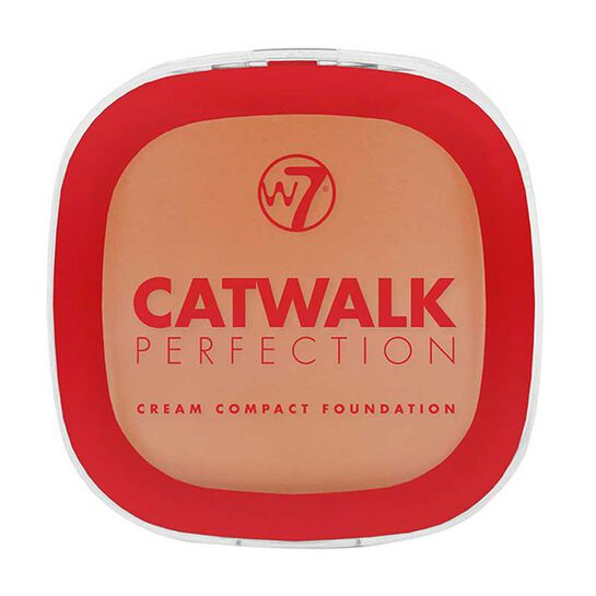 W7 Catwalk Perfection Cream Compact Foundation 6g, , large