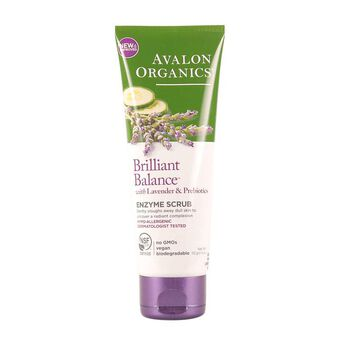 Avalon Organics Exfoliating Enzyme Scrub 100ml, , large