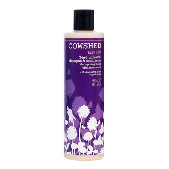 Cowshed Lazy Cow 2 in 1 Rich Shampoo & Conditioner 300ml, , large