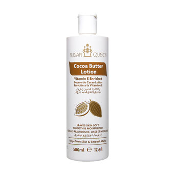 NUBIAN QUEEN Cocoa Butter Lotion 500ml, , large