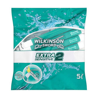 Wilkinson Sword Extra Sensitive 2  Disposable Razors Men, , large