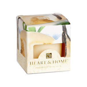 Heart & Home Votive Candle French Vanilla 57g, , large