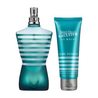 Jean Paul Gaultier Le Male Gift Set EDTS 75ml & 75ml, , large