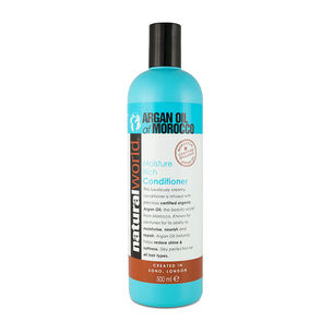Natural World Argan Oil of Morocco Conditioner 500ml, , large