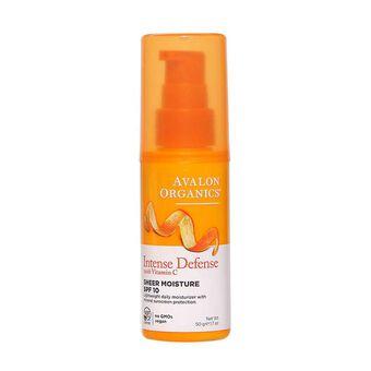Avalon Organics Vitamin C Daily Moisturiser 50g SPF10, , large