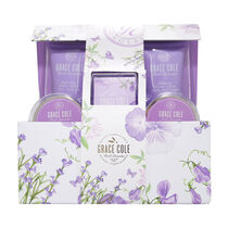 Grace Cole Fresh Lavender Relaxing Calming & Gentle Set, , large