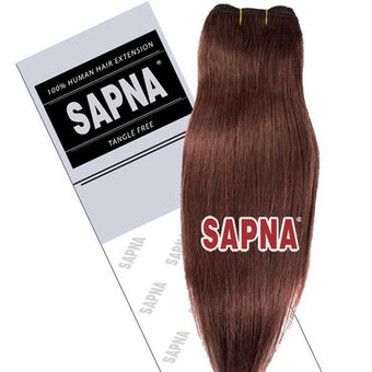 SAPNA Euro Weave Hair Extensions 18 Inch 7, , large