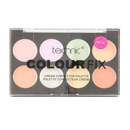 Technic Colour Fix Cream Corrector Pallette 28g, , large