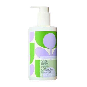 Orla Kiely Sage Lavender Shower Gel 300ml, , large