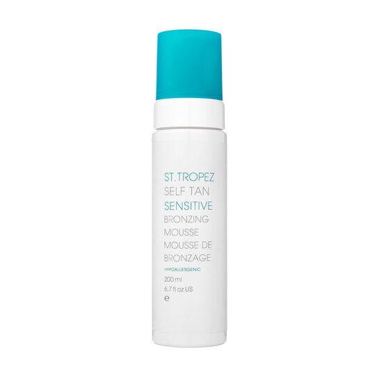 St Tropez Self Tan Sensitive Bronzing Mousse 200ml, , large