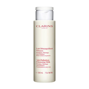 Clarins Anti Pollution Cleansing Milk Combination or Oily, , large
