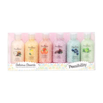 Possibility Delicious Desserts Fruity Bath Crystals Set, , large