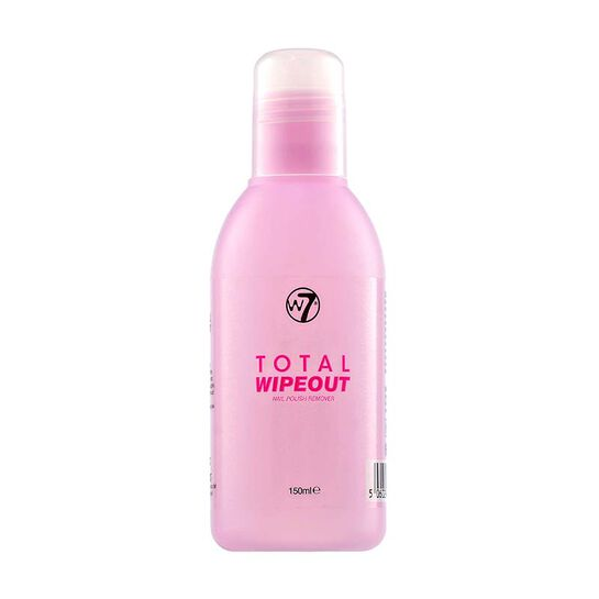 W7 Total Wipeout Nail Polish Remover 150ml, , large
