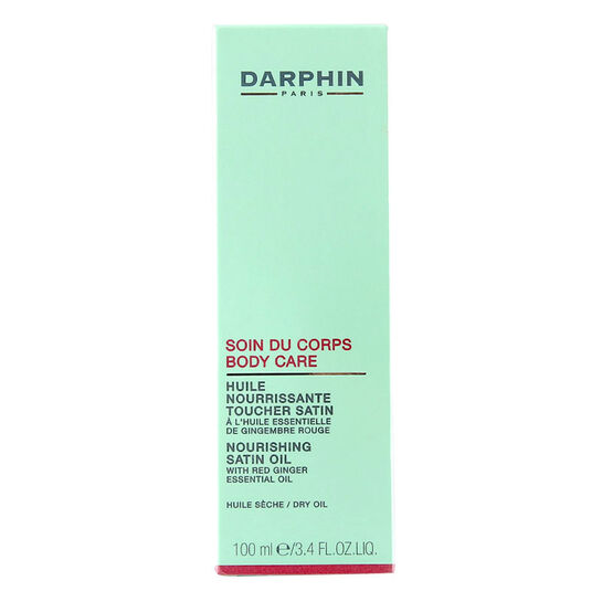 Darphin Paris Nourishing Satin Oil With Red Ginger 100ml, , large