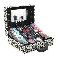 Paris Memories Leopard Print Light Up Vanity Case Gift Set, , large