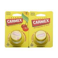 Carmex Lip Balm Pot Original and Cherry Duo 2 x 7.5g, , large