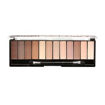 Technic Mega Mattes Eye Shadow Palette 12 x1.2g, , large