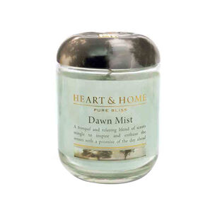 Heart & Home Dawn Mist Large Candle 725g, , large