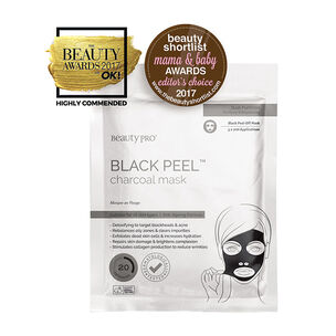 BeautyPro Black Diamond PeelOff Mask with Activated Charcoal, , large