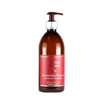 Royal Moroccan Moisturising Shampoo Dry Coloured Hair 500ml, , large