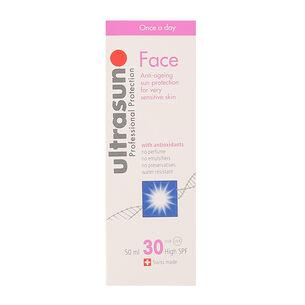 Ultrasun Face Anti Ageing Sun Protection Sensitive SPF30, , large