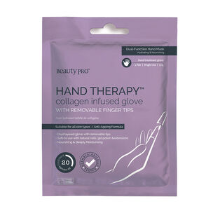 BeautyPro Hand Therapy Collagen Infused Glove, , large