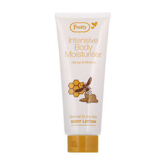 Pretty Intensive Body Moisturiser Honey & Almond 198ml, , large