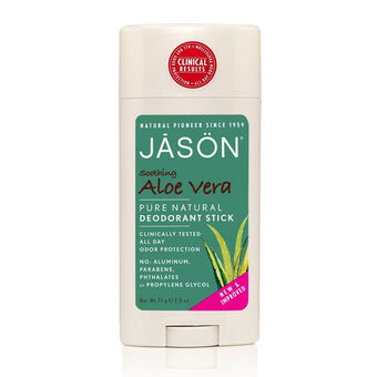 Jason Soothing Aloe Vera Pure Natural Deodorant Stick 71g, , large