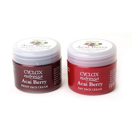 Cyclax Acai Berry Day and Night Cream Twinpack 2 x 50mll, , large