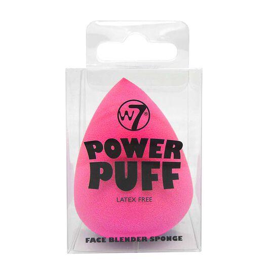 W7 Power Puff Egg Shape Face Blender Sponge, , large