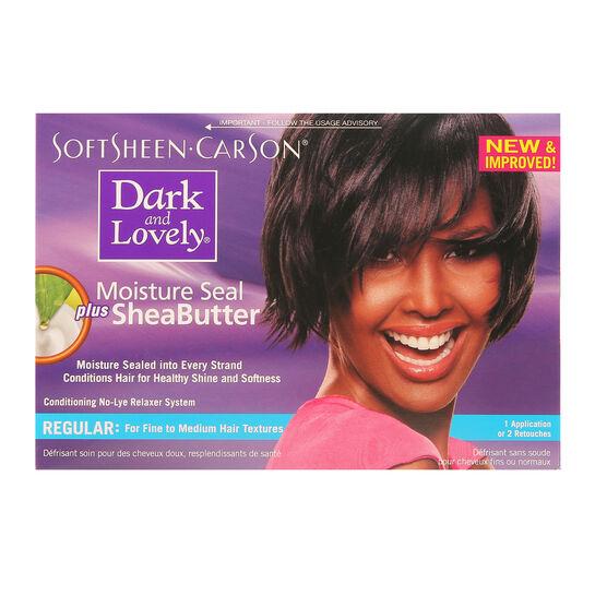 Dark And Lovely Moisture Seal Plus Shea Butter Regular Kit, , large