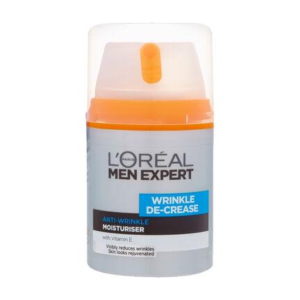 L'Oréal Men De Crease Wrinkle Moisturiser  Cream, , large