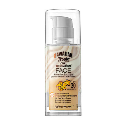 Hawaiian Tropic Silk Hydration Face Lotion SPF30 50ml, , large