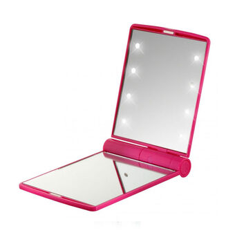 Flo Celebrity LED Mirror Fuchsia, , large