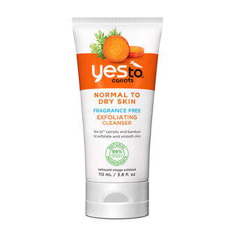 Yes To Carrots Fragrance Free Exfoliating Cleanser 110ml, , large